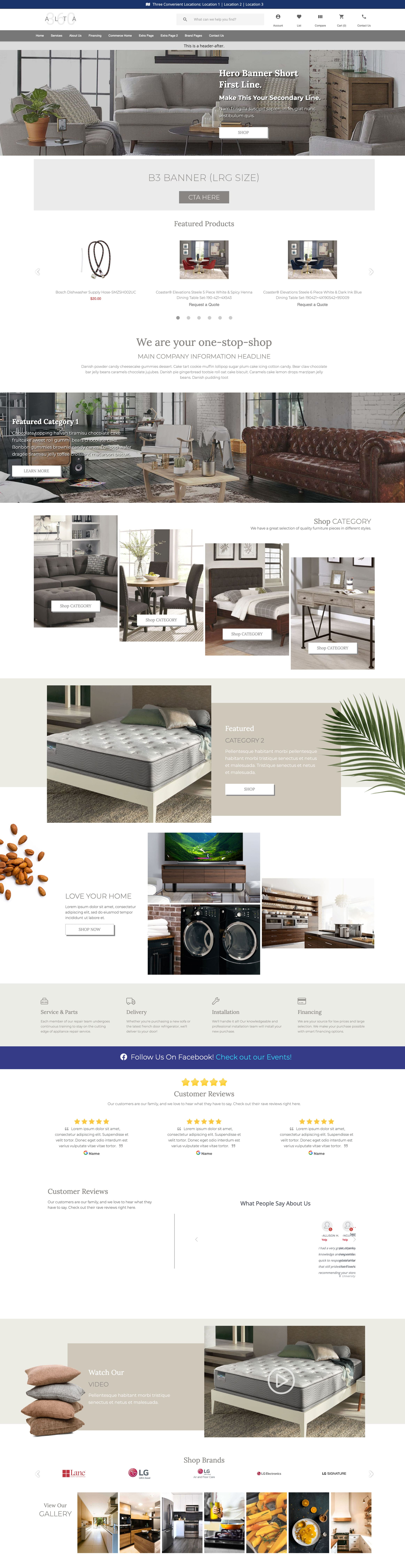 Website Themes - Alta 360 - Flora Fusion
